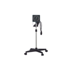 ANEROID BLOOD PRESSURE METER ON MOBILE STAND