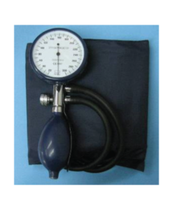 Aneroid Single Handed Blood Pressure Meter With ABS Gauge (Red or Blue)