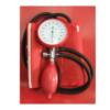 ANEROID SINGLE HANDED BLOOD PRESSURE METER RED