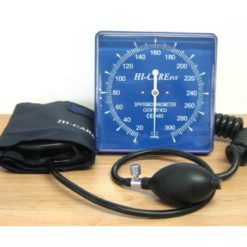 ANEROID SQUARE FACE WALL MOUNTABLE BLOOD PRESSURE