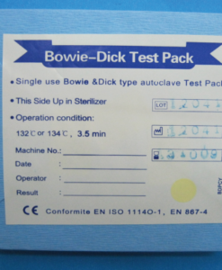 Bowie Dick Test Packs per 60