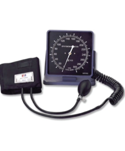 Deluxe Aneroid Wall/Desk Blood Pressure Meter With Square Face