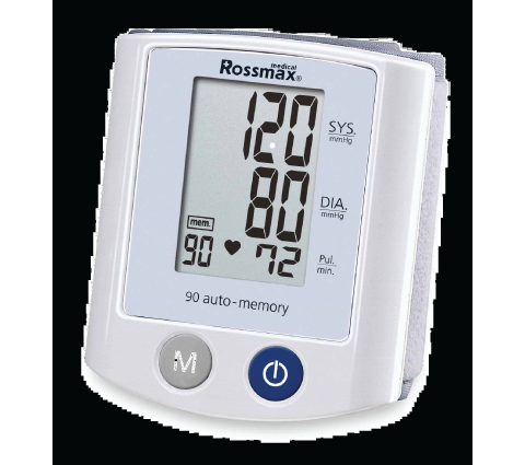 ROSSMAX FULLY AUTOMATIC WRIST BLOOD PRESSURE METER S150
