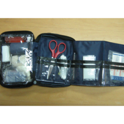 BASIC FIRST AID KIT HIGH QUALITY OPENED