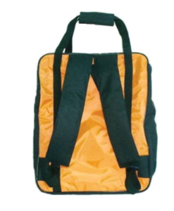 BLS PARAMEDIC BAG Basic Life Support REAR VIEW