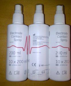 ECG Electrode Spray
