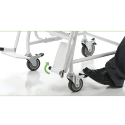 ELECTRONIC CHAIR SCALE FOOT BRAKE