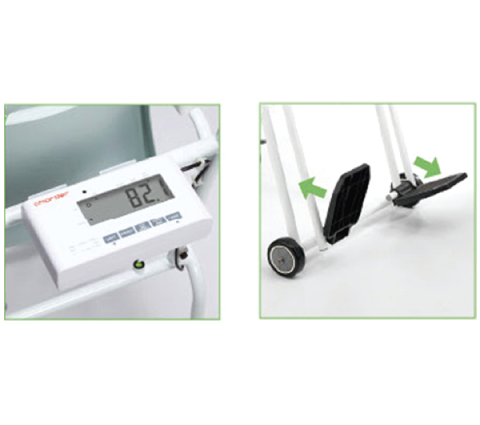 Scale Wheelchair Electronic With Data Transfer 200kg MS5810 – Cleansafe Labs