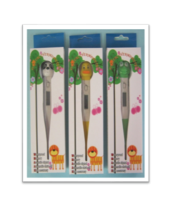 Thermometer Flexi Tip Animal (Duck, Panda and Frog) Pack 20