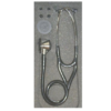 Stethoscope Hi-Care Professional Cardiology - Dual Head Professional – Adult / Child Stainless Steel