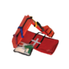 RED HEADY DUTY PVC CARRY BAG