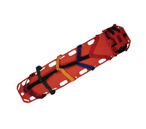 Foldable Stretcher Emergency , Head Immobilizing Set & Spider Harness