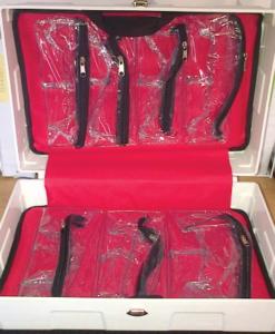 WALL MOUNTABLE PLASTIC EMPTY BOX OPEN
