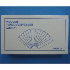 WOODEN TONGUE DEPRESSORS 150mm x 18mm 100S