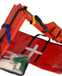 Foldable Stretcher Head Block Spider Harness Image 1
