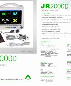 JR2000D Specifications