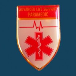 Advanced Life Support Paramedic Qualification Badge 1000x1000