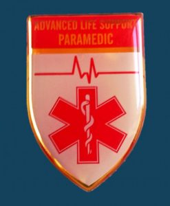 Advanced Life Support Paramedic Qualification Badge 1000x1000